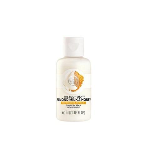 The Body Shop Almond Milk & Honey Shower Cream For Sensitive & Dry Skin 60ml