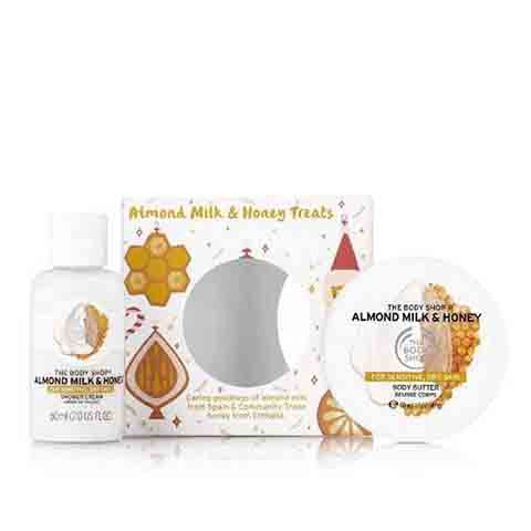 The Body Shop Almond Milk & Honey Treats Gift Set