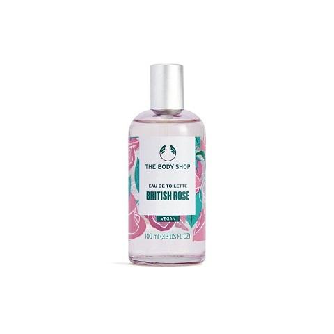 The Body Shop British Rose Eau De Toilette 100ml - Vegan