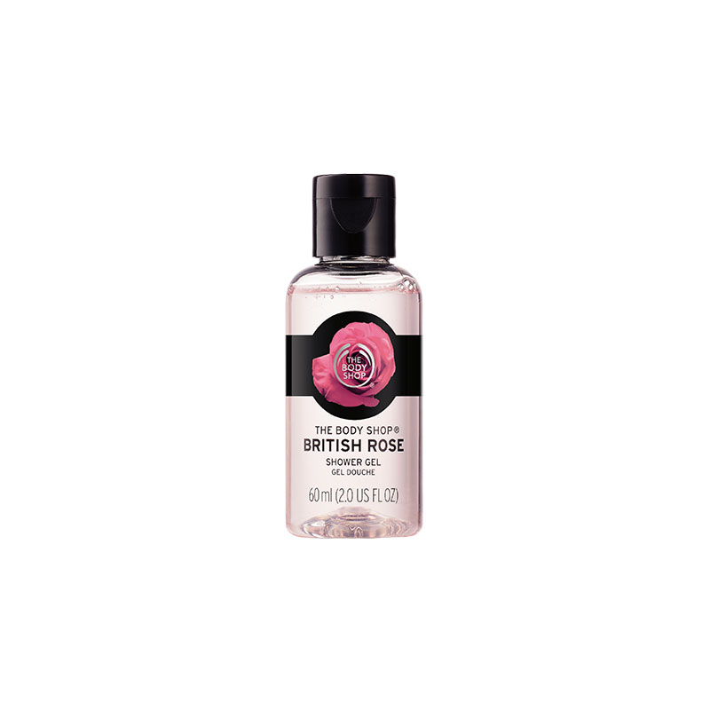 The Body Shop British Rose Shower Gel 60ml