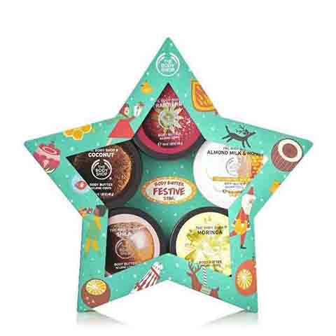 The Body Shop Butter Festive Star Gift Set
