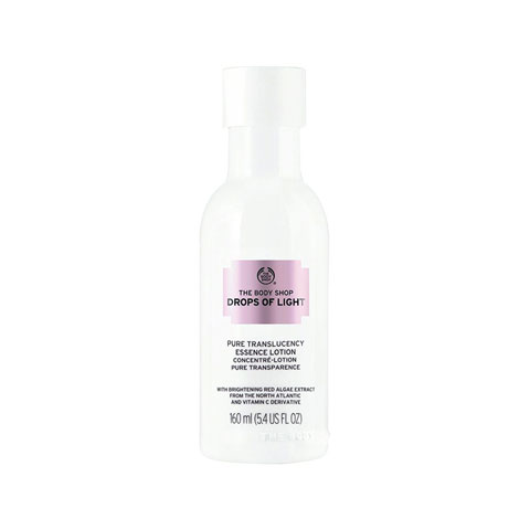 The Body Shop Drops Of Light Pure Translucency Essence Lotion 160ml