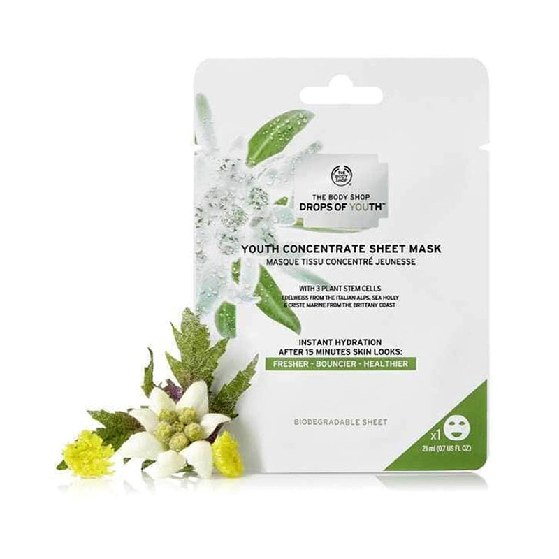 The Body Shop Drops of Youth Concentrate Sheet Mask 21ml