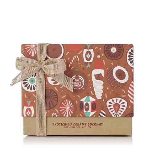 The Body Shop Exotically Creamy Coconut Gift Set