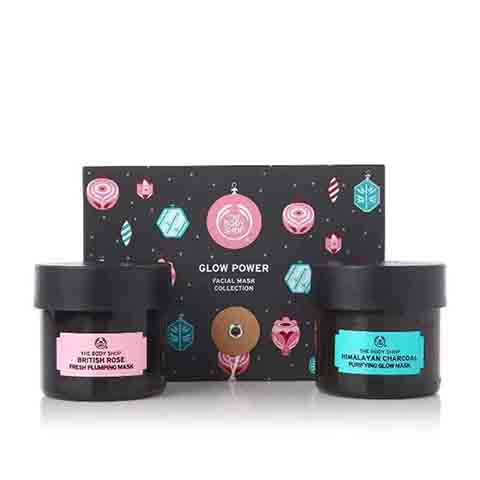 The Body Shop Glow Power Facial Mask Collection Gift Set
