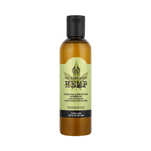 The Body Shop Hemp  Hydrating and Protecting Shower Oil 250ml