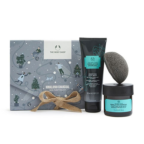 The Body Shop Himalayan Charcoal Skin Purifying Kit