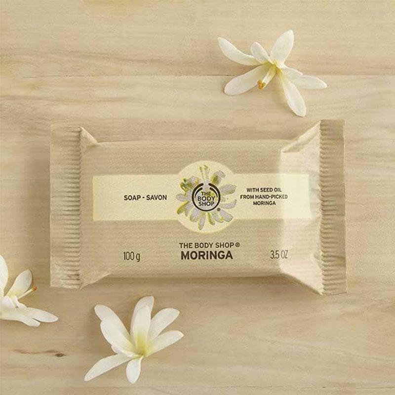 The Body Shop Moringa Soap 100g