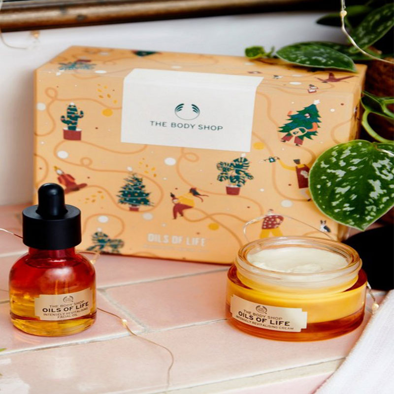 The Body Shop Oils of Life Radiant skin Kit