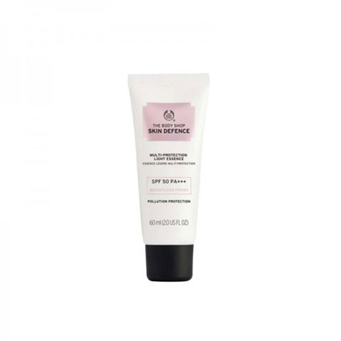 The Body Shop Skin Defence Multi-Protection Essence SPF50 PA+++ 60ml - Light