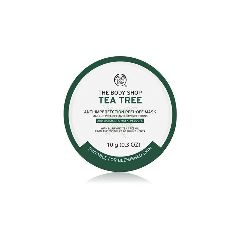 The Body Shop Tea Tree Anti Imperfection Peel- Off Mask 10g