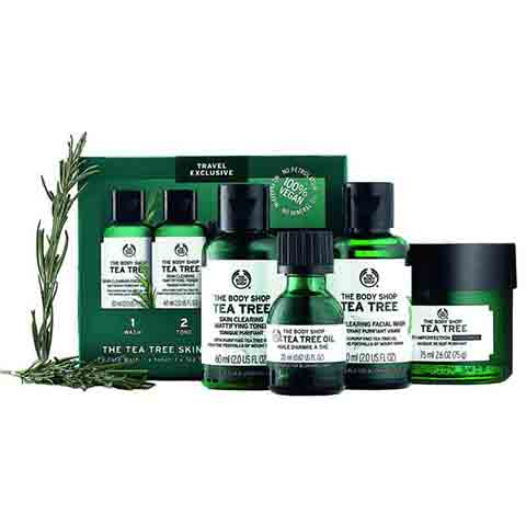 The Body Shop Tea Tree Skin Clearing Collection