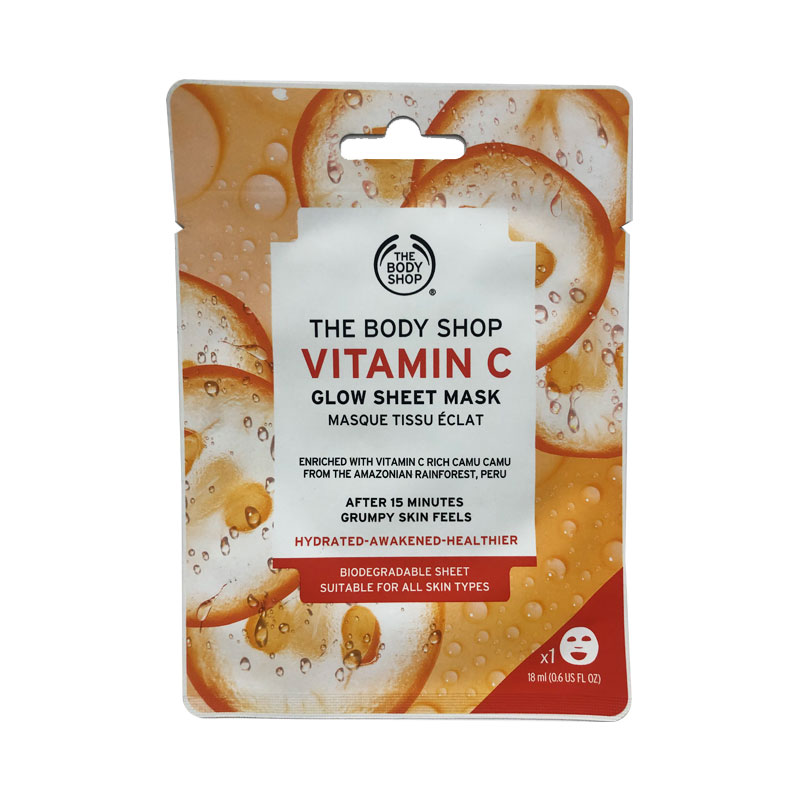 The Body Shop Vitamin C Glow Sheet Mask 18ml