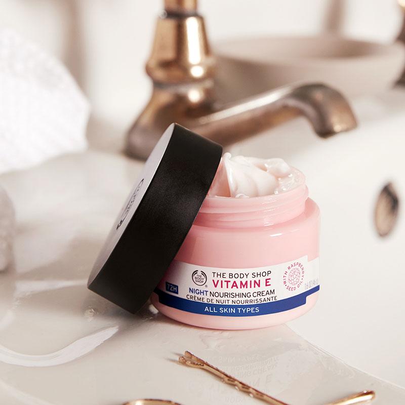 The Body Shop Vitamin E Night Nourishing Cream 50ml