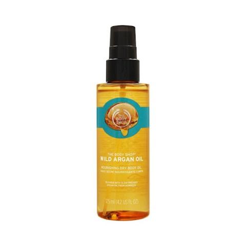 The Body Shop Wild Argan Oil Nourishing Dry Body Oil 125ml