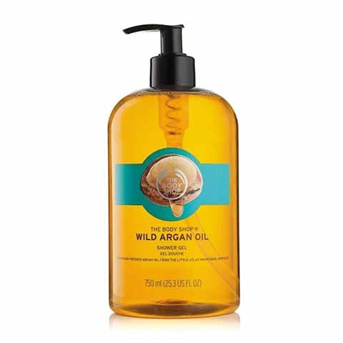 The Body Shop Wild Argan Oil Shower Gel 750ml