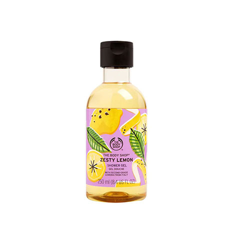 The Body Shop Zesty Lemon Shower Gel 250ml