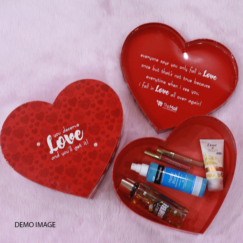 The Mall's Exclusive Heart Shape Gift Box