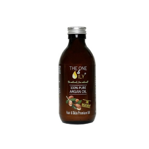 The One & Oily 100% Pure Argan Oil For Hair & Skin 200ml