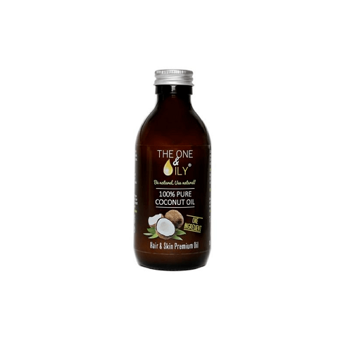 The One & Oily 100% Pure Coconut Oil For Hair & Skin  200ml