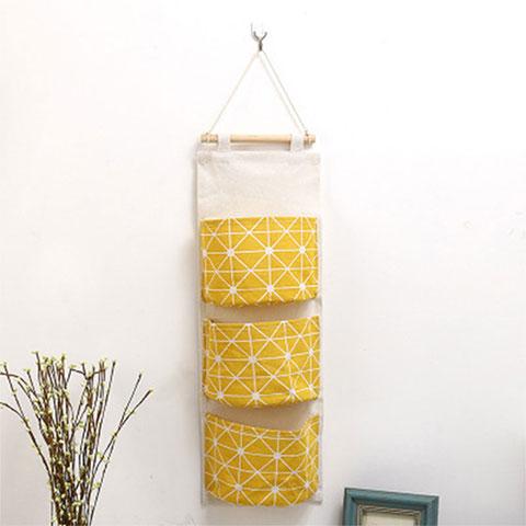 Three Pocket Hanging Bag