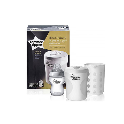Tommee Tippee Closer To Nature 2in 1 Travel Steriliser (1000)