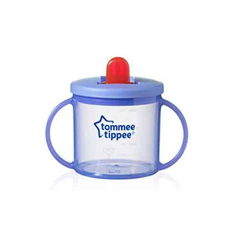 Tommee Tippee Essentials Basic First Cup 4m+ 190ml - Purple