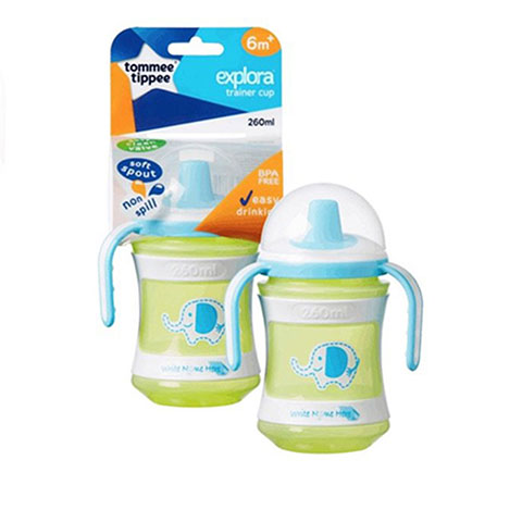 Tommee Tippee Explora Trainer Cup 6m+ 260ml - Green