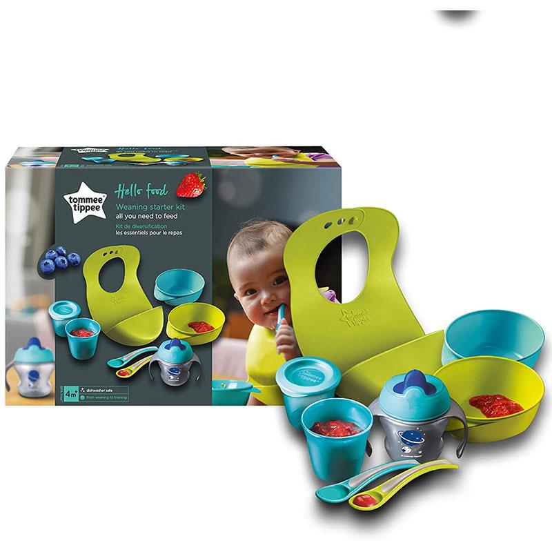 Tommee Tippee Hello Food Weaning Starter Kit Set (6297)