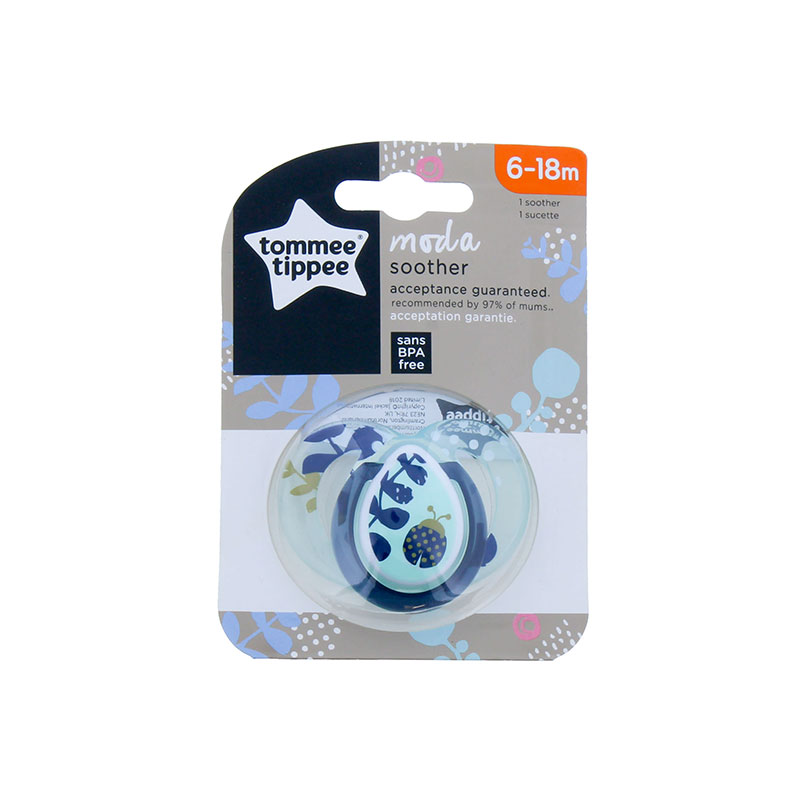 Tommee Tippee Moda Silicone Soother 6-18 Months