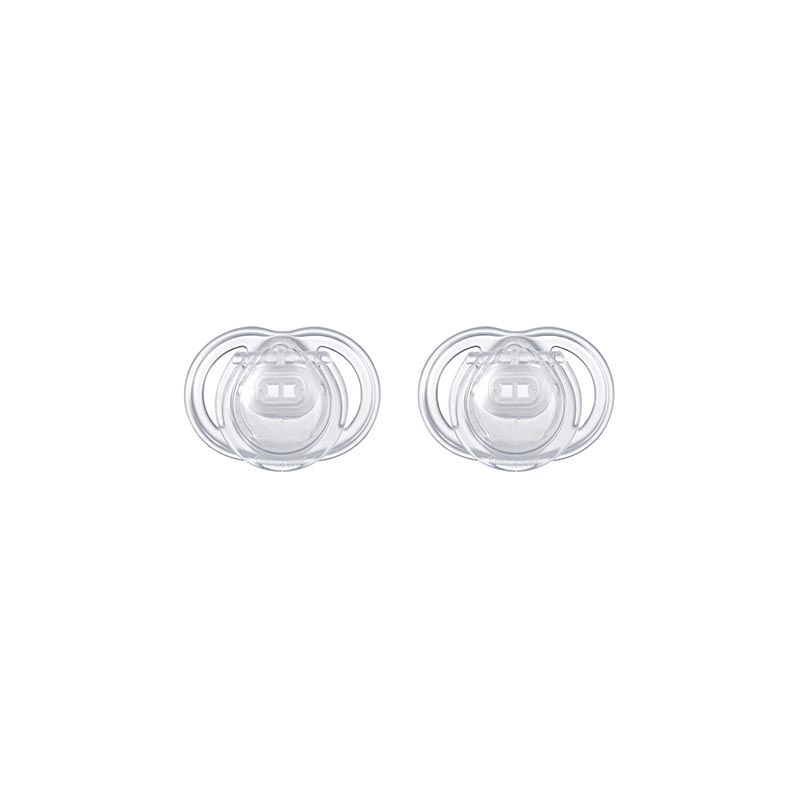Tommee Tippee Newborn Baby Orthodontic Soothers 2pk - (0-2m)