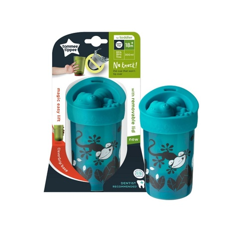 Tommee Tippee No Knock Toddler Cup 18m+ 300ml - Blue (3035)
