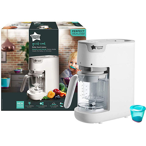 Tommee Tippee Quick Cook Baby Food Maker Steams And Blender (2250)