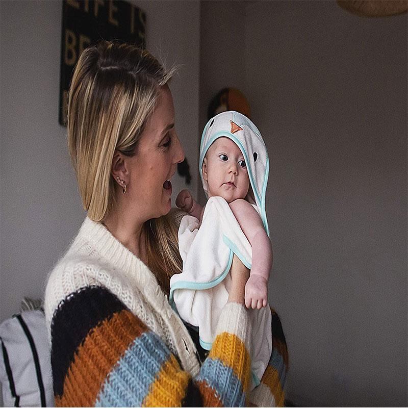 Tommee Tippee Splashtime Swaddle Dry Towel 0-6m - Paste