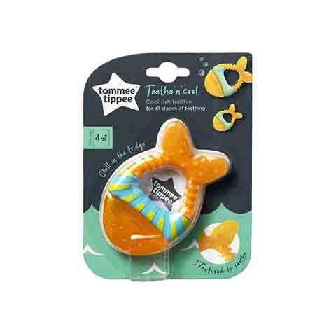 Tommee Tippee Teethe 'n' Cool Fish Teether 4m+ - (2)