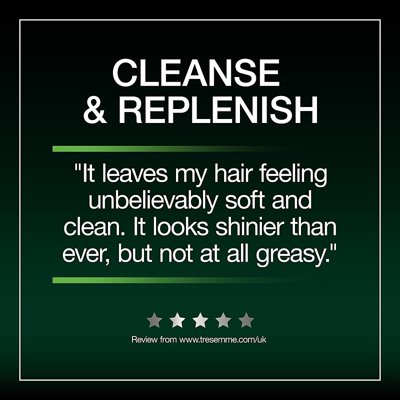 Tresemme Cleanse & Replenish With Multi Vitamin Deep Cleansing Shampoo For All Hair Types 900ml