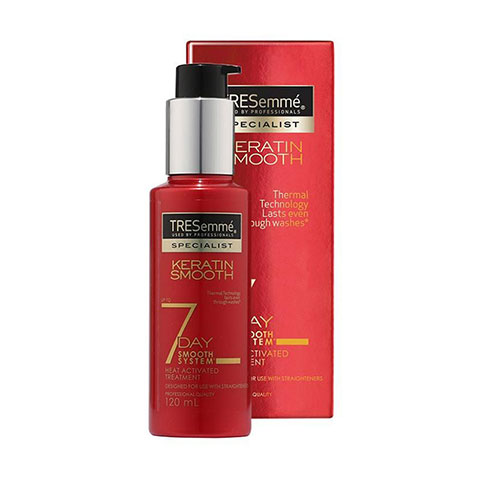Tresemme Keratin Smooth 7 Day Heat Activated Treatment 120ml