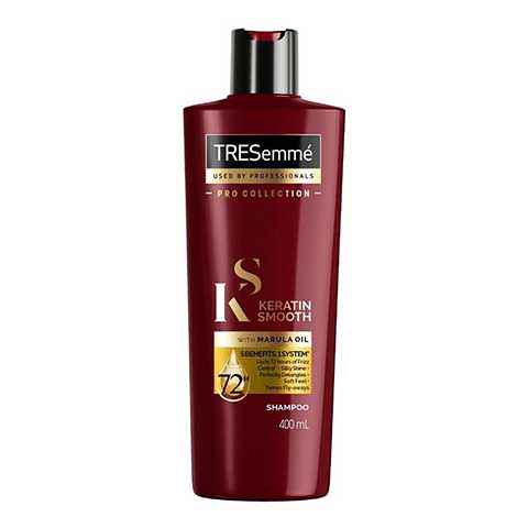 Tresemme Pro Collection Keratin Smooth With Marula Oil Shampoo 400ml