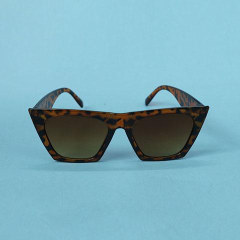 Unique Retro Cat Eye Square Sunglasses