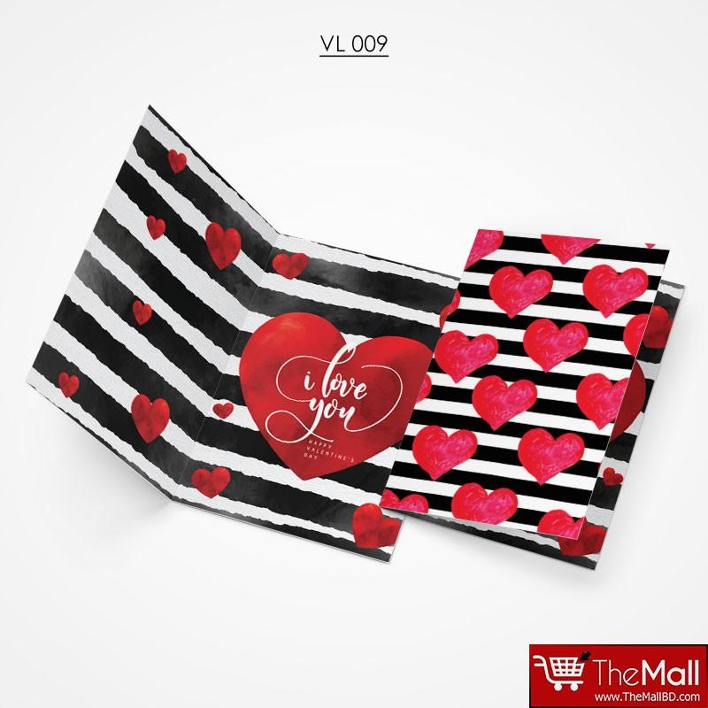 Valentine Gift Card - VL009