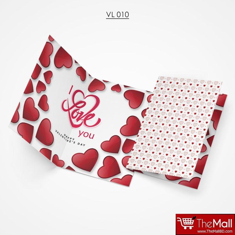 Valentine Gift Card - VL010