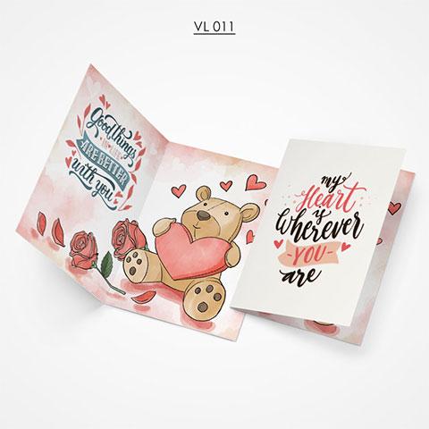 Valentine Gift Card - VL011