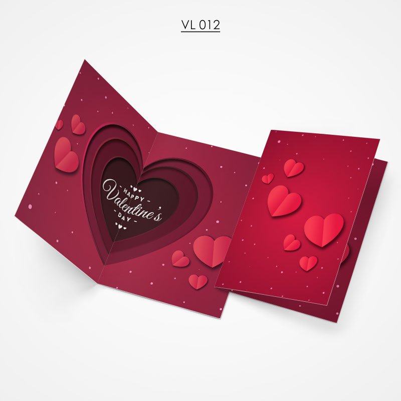 Valentine Gift Card - VL012
