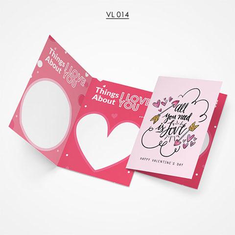Valentine Gift Card - VL014