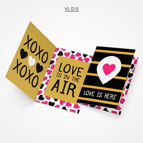 Valentine Gift Card - VL015
