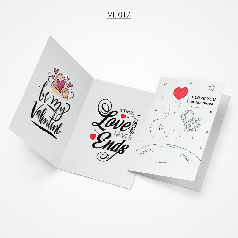 Valentine Gift Card - VL017