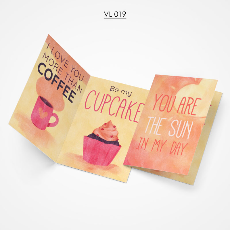 Valentine Gift Card - VL019