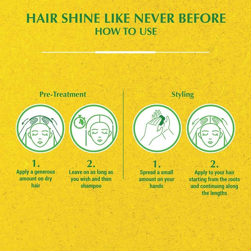 Vatika Dandruff Guard Styling Hair Cream 140ml