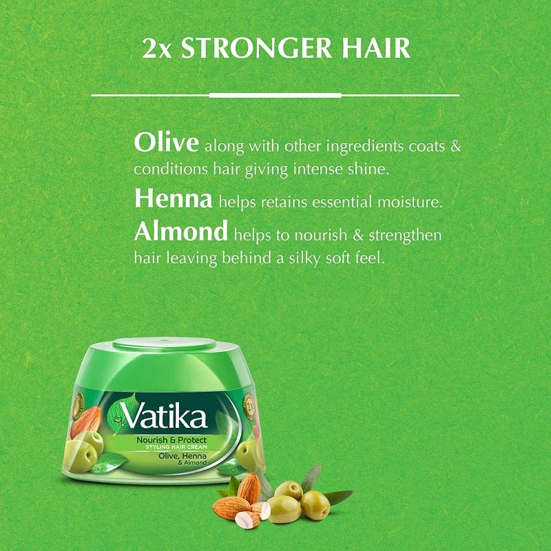 Vatika Nourish & Protect Styling Hair Cream 140ml