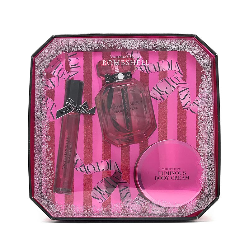 Victoria's Secret Bombshell 3 Piece Gift Set (8536)